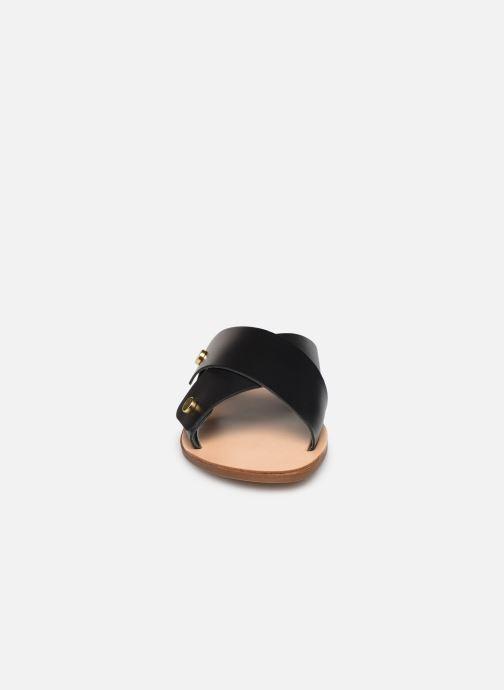 Mules et sabots Aldo DARENI Noir vue portées chaussures