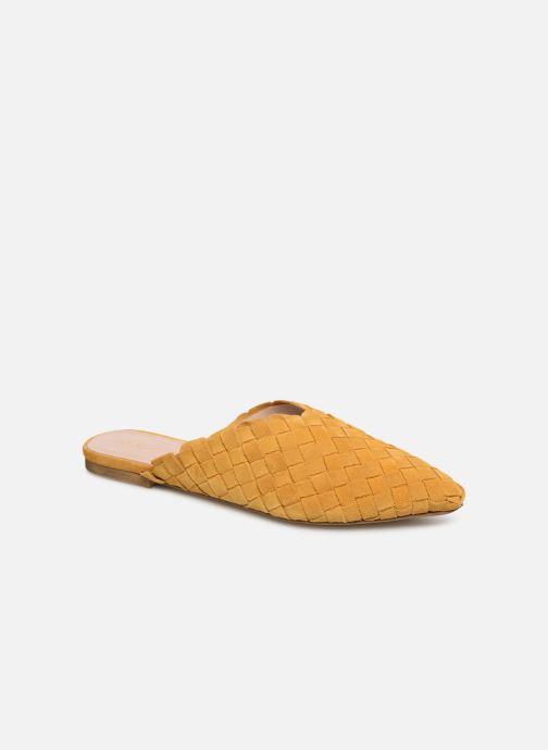 Clogs & Pantoletten Aldo ELILIWIA gelb detaillierte ansicht/modell