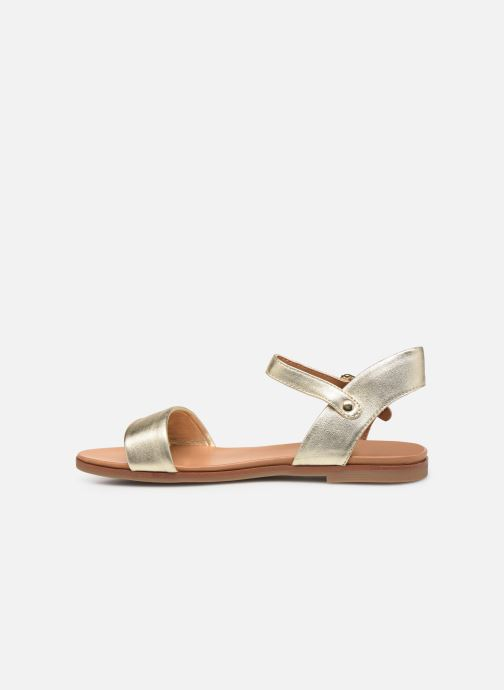 Sandales et nu-pieds Aldo ETERILLAN Or et bronze vue face