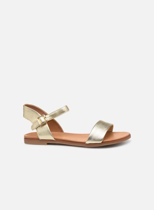 Sandales et nu-pieds Aldo ETERILLAN Or et bronze vue derrière