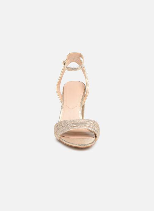 Sandales et nu-pieds Aldo GLERIN Or et bronze vue portées chaussures