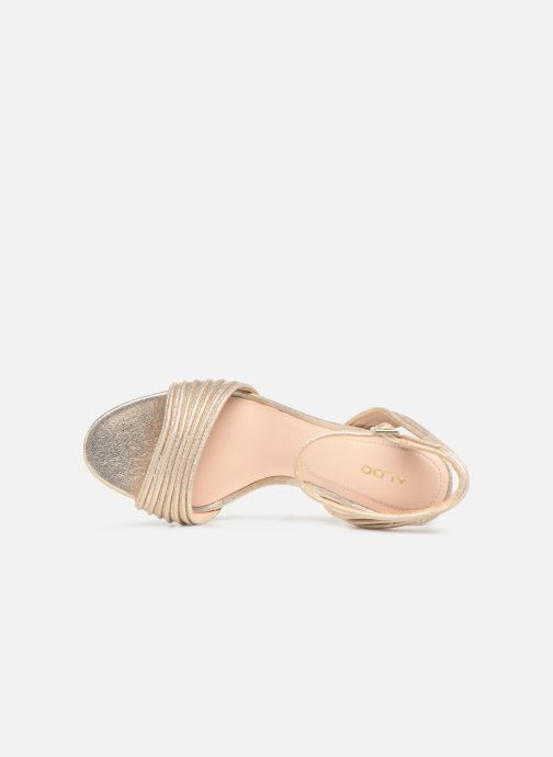 Sandales et nu-pieds Aldo GLERIN Or et bronze vue gauche