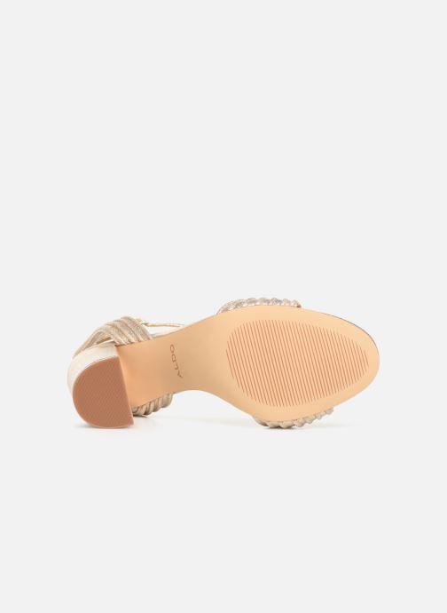 Sandales et nu-pieds Aldo GLERIN Or et bronze vue haut