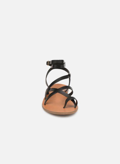 Sandales et nu-pieds Aldo GLUDDA Noir vue portées chaussures