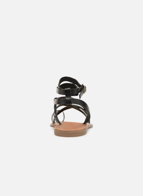 Sandales et nu-pieds Aldo GLUDDA Noir vue droite