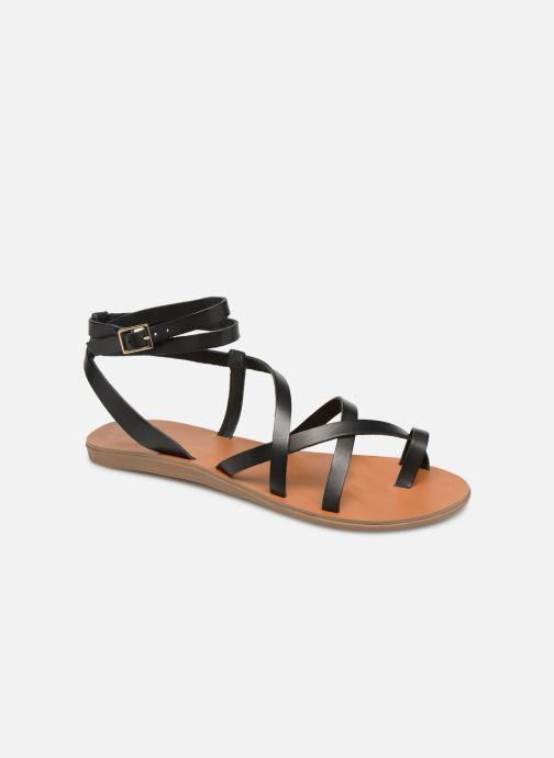 Sandales et nu-pieds Aldo GLUDDA Noir vue détail/paire