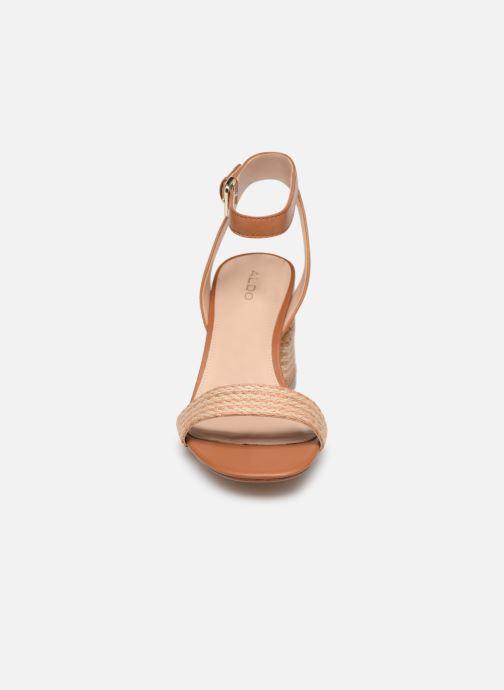Sandales et nu-pieds Aldo GWEILIAN Marron vue portées chaussures