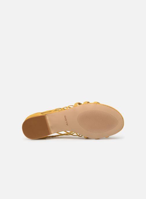 Sandales et nu-pieds Aldo EOWERRALLA Jaune vue haut