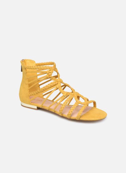 Sandales et nu-pieds Aldo EOWERRALLA Jaune vue détail/paire