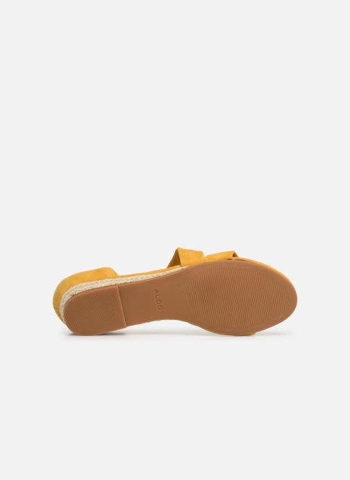 Sandales et nu-pieds Aldo MOEWEN Jaune vue haut