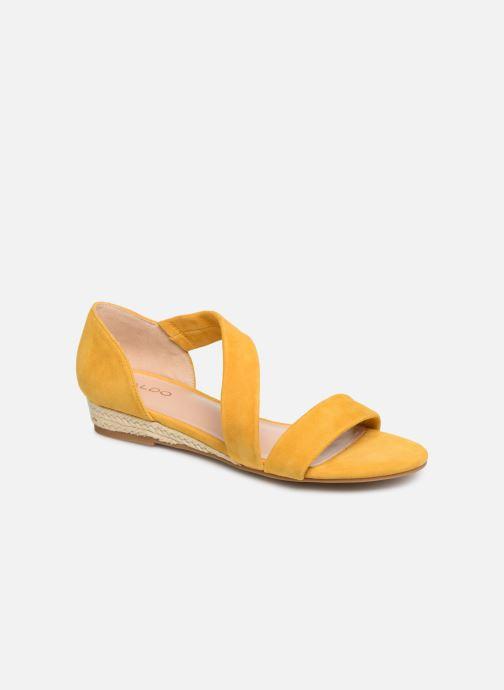 Sandales et nu-pieds Aldo MOEWEN Jaune vue détail/paire