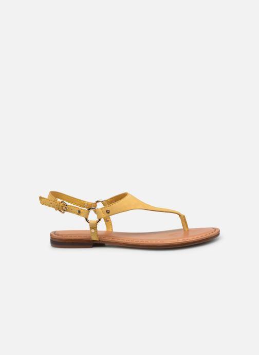 Sandales et nu-pieds Aldo ELUBRYLLA Jaune vue derrière