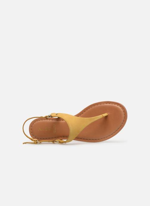 Sandales et nu-pieds Aldo ELUBRYLLA Jaune vue gauche