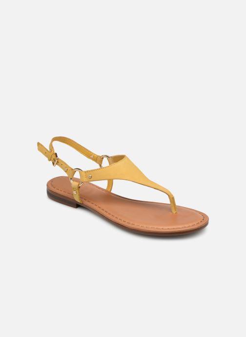 Sandales et nu-pieds Aldo ELUBRYLLA Jaune vue détail/paire