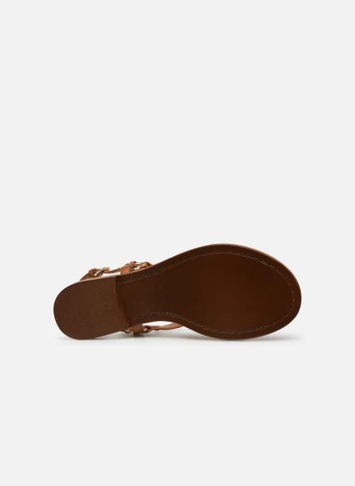 Sandales et nu-pieds Aldo ELUBRYLLA Marron vue haut