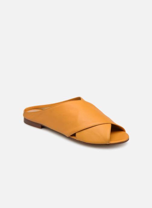 Clogs og træsko Aldo RIREVIEL Gul detaljeret billede af skoene