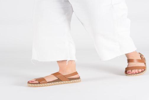 Espadrilles Aldo RURYAN braun ansicht von unten / tasche getragen