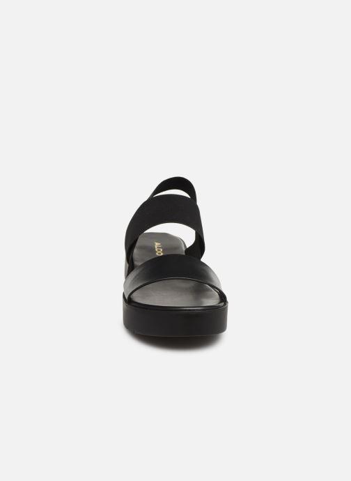 Sandales et nu-pieds Aldo SEANGWEN Noir vue portées chaussures