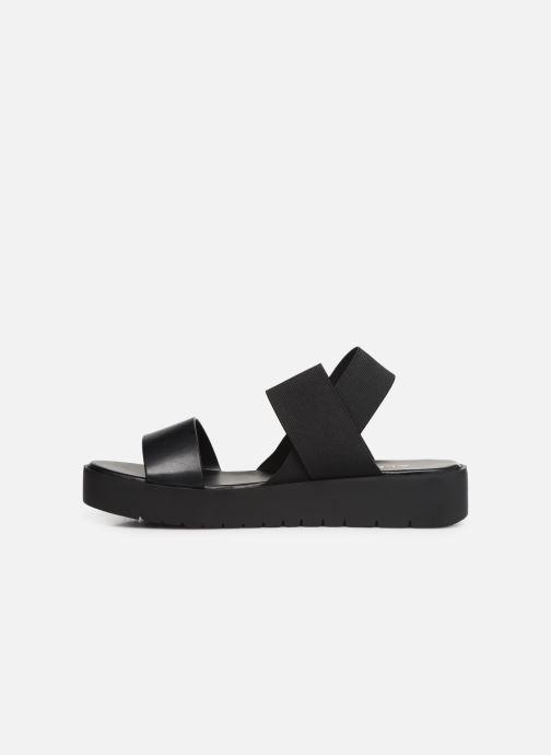 Sandales et nu-pieds Aldo SEANGWEN Noir vue face
