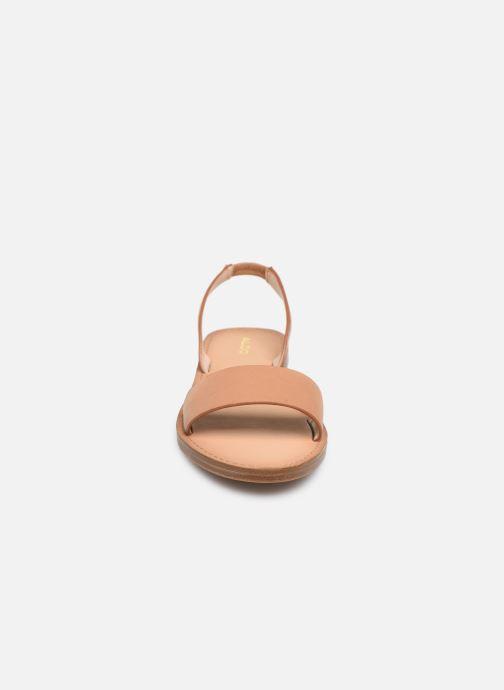 Sandales et nu-pieds Aldo TOAWEN Marron vue portées chaussures