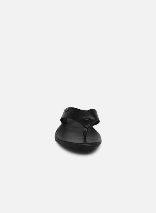 Tongs Les Tropéziennes par M Belarbi DAFFY Noir vue portées chaussures