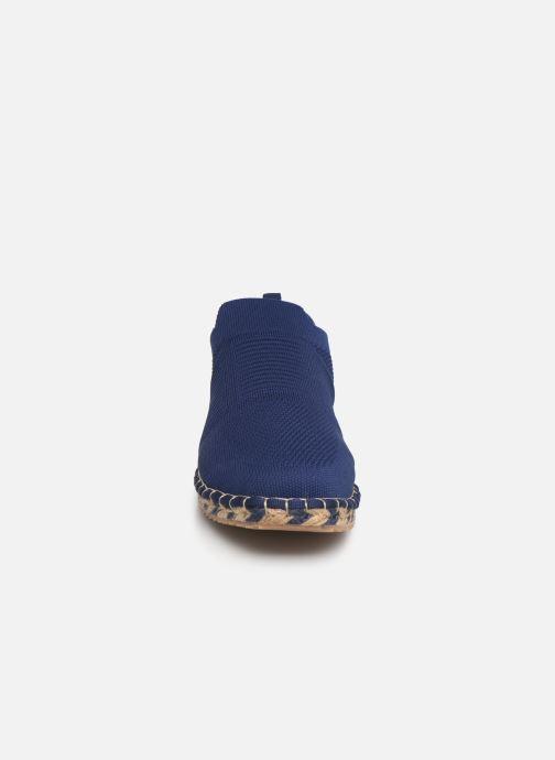 Mocassini Les Tropéziennes par M Belarbi CAMIA Azzurro modello indossato