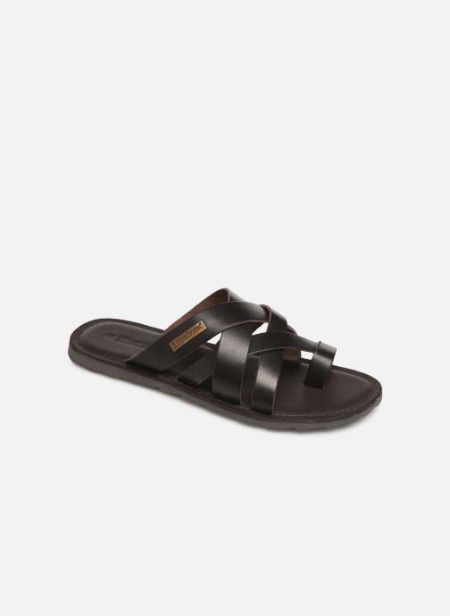 Sandales et nu-pieds Les Tropéziennes par M Belarbi DALAM Marron vue détail/paire