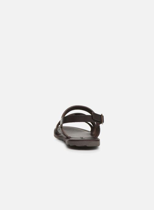 Sandales et nu-pieds Les Tropéziennes par M Belarbi DAIKO Marron vue droite