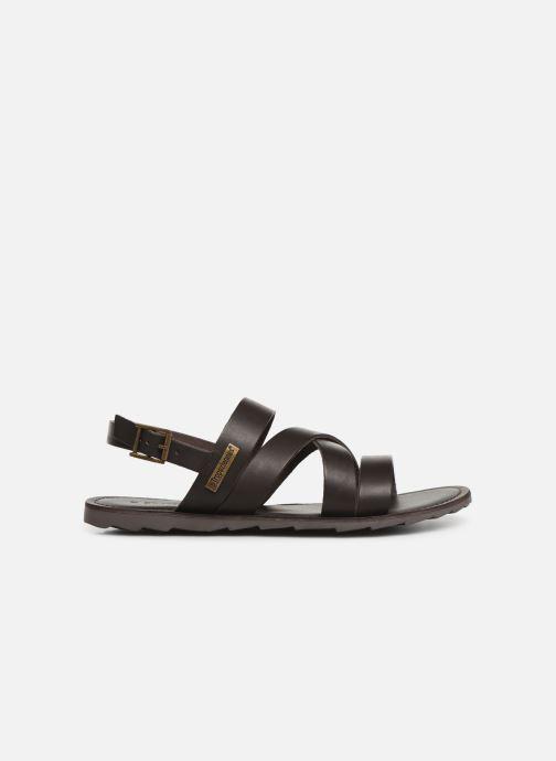 Sandales et nu-pieds Les Tropéziennes par M Belarbi DAIKO Marron vue derrière