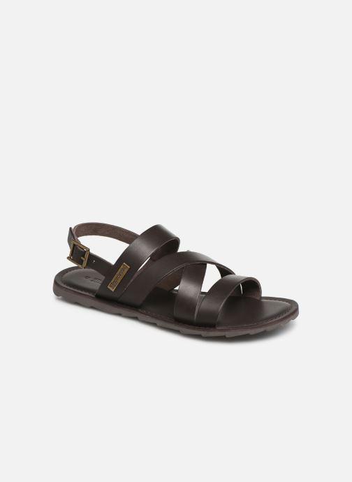Sandales et nu-pieds Les Tropéziennes par M Belarbi DAIKO Marron vue détail/paire