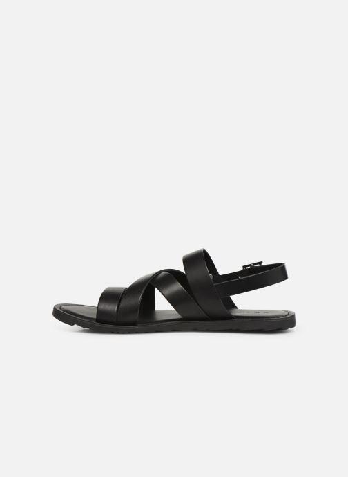 Sandales et nu-pieds Les Tropéziennes par M Belarbi DAIKO Noir vue face