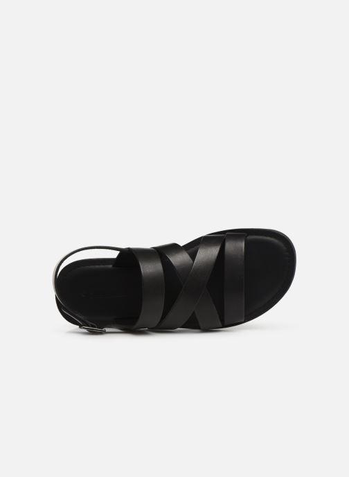 Sandales et nu-pieds Les Tropéziennes par M Belarbi DAIKO Noir vue gauche