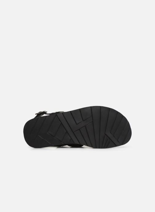 Sandales et nu-pieds Les Tropéziennes par M Belarbi DAIKO Noir vue haut