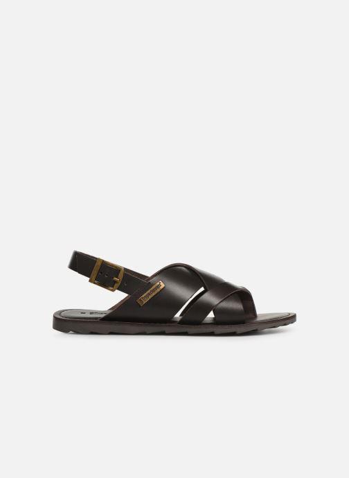 Sandales et nu-pieds Les Tropéziennes par M Belarbi DACO Marron vue derrière