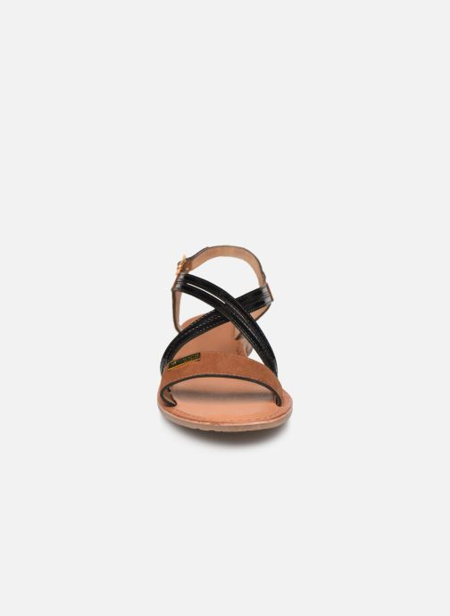 Sandalen Les Tropéziennes par M Belarbi HANDY braun schuhe getragen