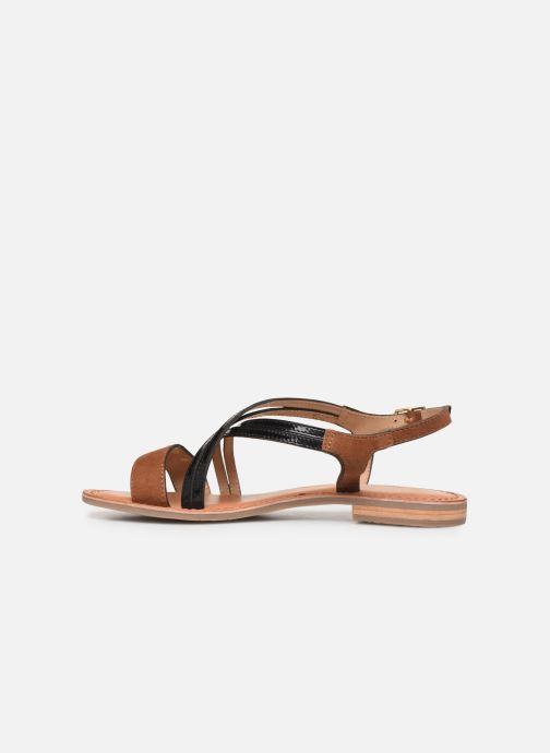 Sandals Les Tropéziennes par M Belarbi HANDY Brown front view