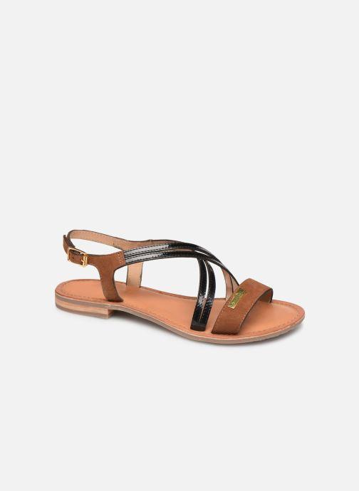 Sandals Les Tropéziennes par M Belarbi HANDY Brown detailed view/ Pair view