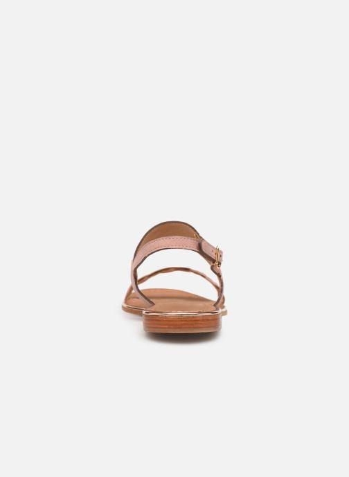 Sandales et nu-pieds Les Tropéziennes par M Belarbi HAYA Rose vue droite