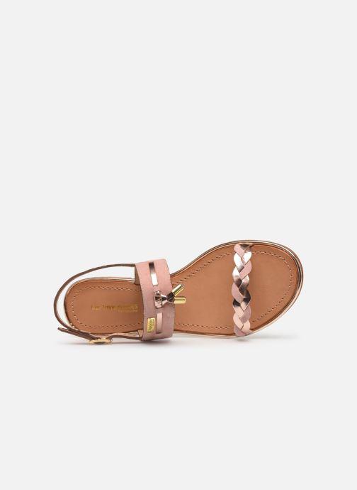 Sandales et nu-pieds Les Tropéziennes par M Belarbi HAYA Rose vue gauche