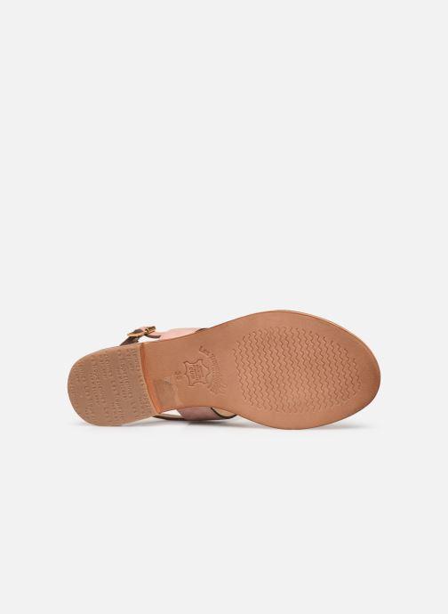 Sandales et nu-pieds Les Tropéziennes par M Belarbi HAYA Rose vue haut