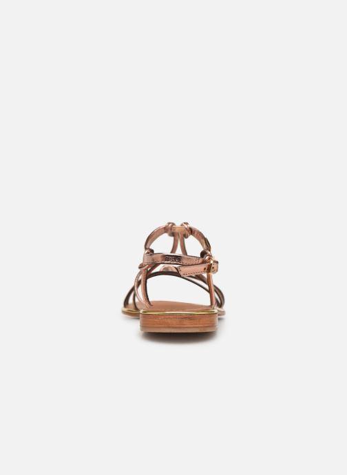 Sandales et nu-pieds Les Tropéziennes par M Belarbi HERON Or et bronze vue droite