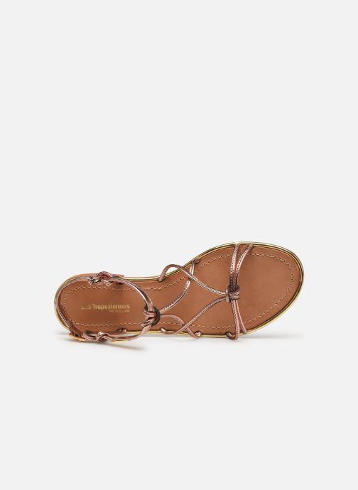 Sandales et nu-pieds Les Tropéziennes par M Belarbi HERON Or et bronze vue gauche