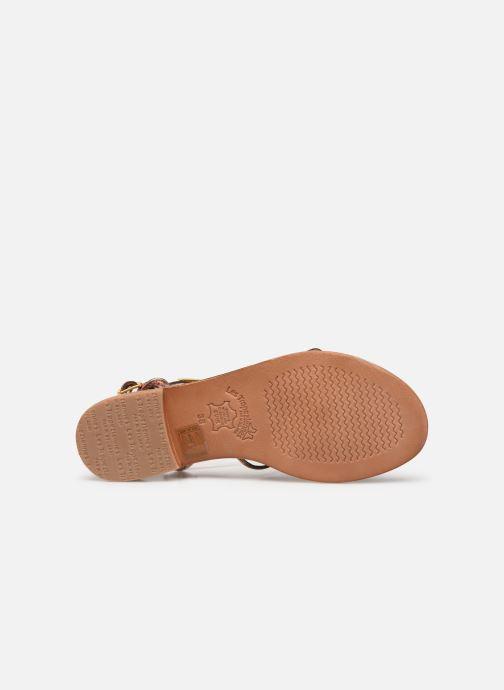 Sandales et nu-pieds Les Tropéziennes par M Belarbi HERON Or et bronze vue haut