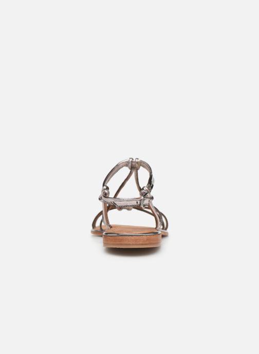 Sandaler Les Tropéziennes par M Belarbi HERON Sølv Se fra højre