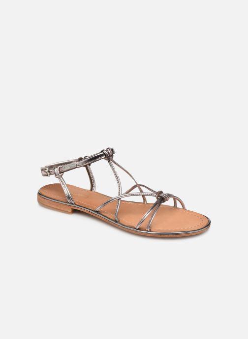 Sandals Les Tropéziennes par M Belarbi HERON Silver detailed view/ Pair view