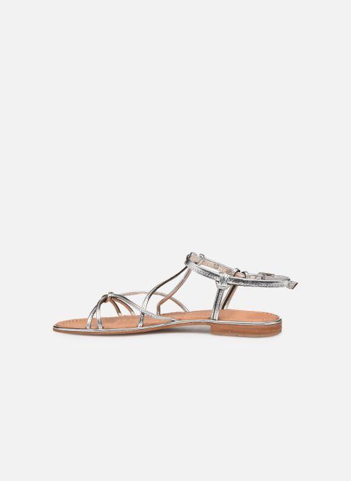 Sandals Les Tropéziennes par M Belarbi HERON Silver front view