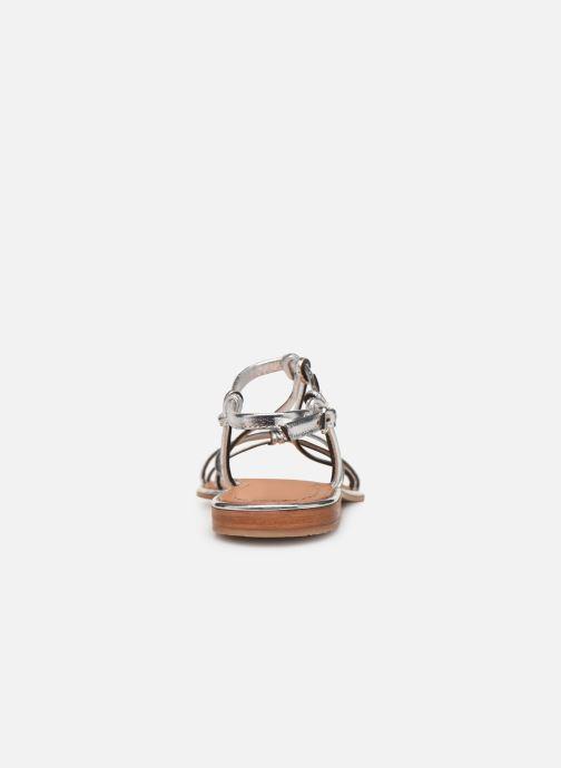 Sandales et nu-pieds Les Tropéziennes par M Belarbi HERON Argent vue droite