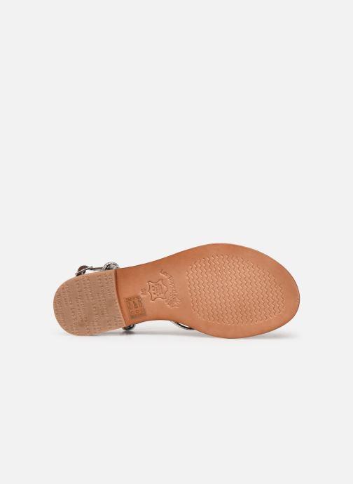 Sandals Les Tropéziennes par M Belarbi HERON Silver view from above
