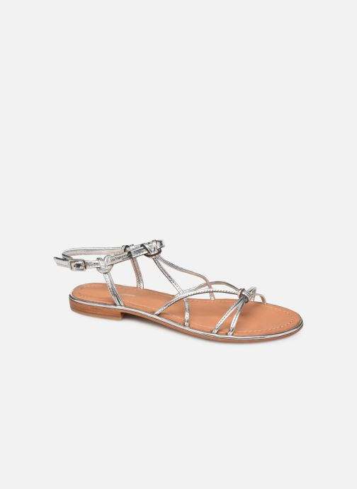 Sandales et nu-pieds Les Tropéziennes par M Belarbi HERON Argent vue détail/paire