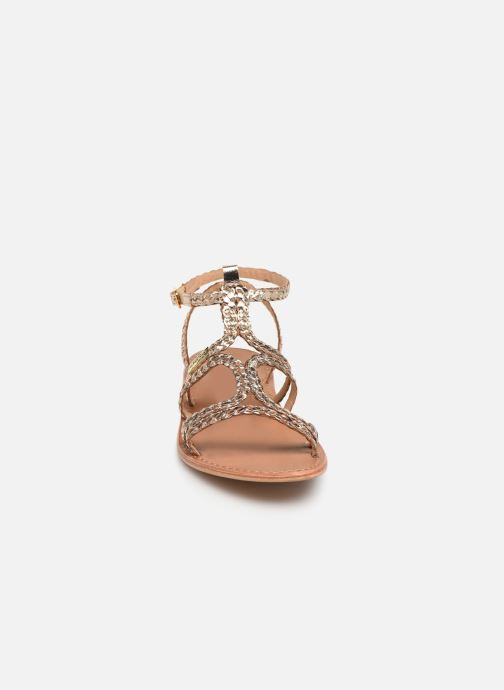 Sandales et nu-pieds Les Tropéziennes par M Belarbi BOUNTY new Or et bronze vue portées chaussures